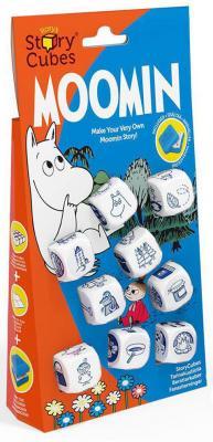 Настольная игра Rorys Story Cubes семейная Кубики Историй: Муми-тролли RSC105