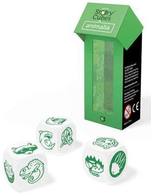 Настольная игра Rorys Story Cubes семейная Кубики Историй: Дополнительный набор Животные RSC17 story cubes кубики историй животные