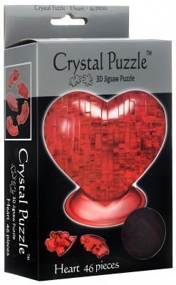 Головоломка CRYSTAL PUZZLE Сердце красное старше 10 лет 90012