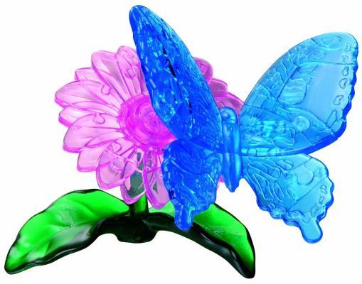 Головоломка CRYSTAL PUZZLE Бабочка Голубая от 7 лет 4893718901228