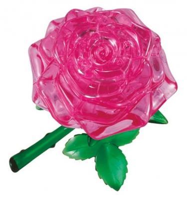 Головоломка CRYSTAL PUZZLE Роза розовая старше 10 лет 90213