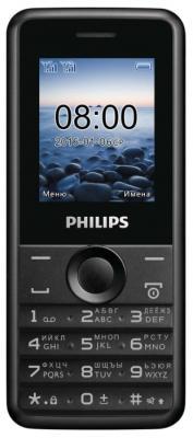 """Мобильный телефон Philips E103 черный 1.77"""""""