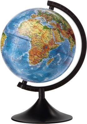 Глобус Земли физический 210 серия Классик Globen К012100007 глобус земли зоогегорафический детский 210 серия классик globen