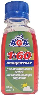 Жидкость для стеклоомывателя AGA 114 незамерзающая жидкость aga 079 d 4л