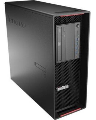 Рабочая станция Lenovo ThinkStation P500 E5-1607v3 3.1GHz 8Gb 1Tb K420-1Gb DVD-RW Win7Pro Win8.1Pro клавиатура мышь черный 30A70038RU
