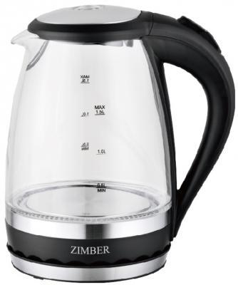 Чайник Zimber ZM-11070 2200 Вт прозрачный 1.5 л пластик/стекло