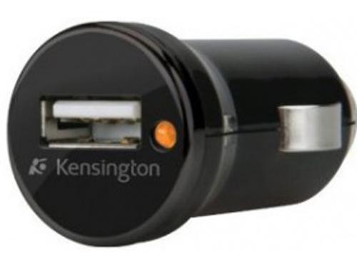 Автомобильное зарядное устройство Kensington K38054EU USB 1A черный автомобильное зарядное устройство ainy eb 018m с 2 мя usb 1a 2 4a фиолетовое