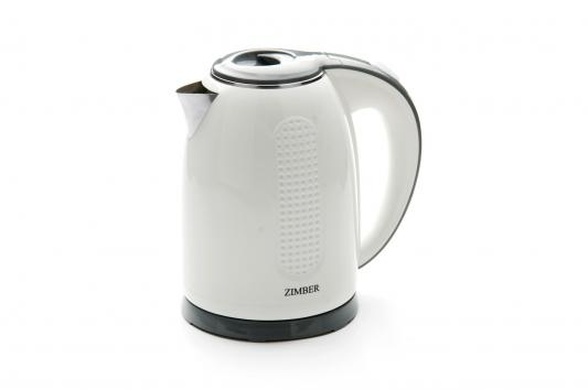 Чайник Zimber ZM-11075 2200 Вт белый 1.7 л пластик