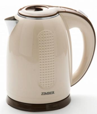 Чайник Zimber ZM-11076 2200 Вт бежевый 1.7 л металл/пластик