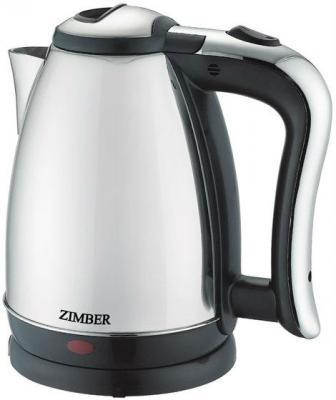 Чайник Zimber ZM-10759 1500 Вт серебристый 1.8 л нержавеющая сталь
