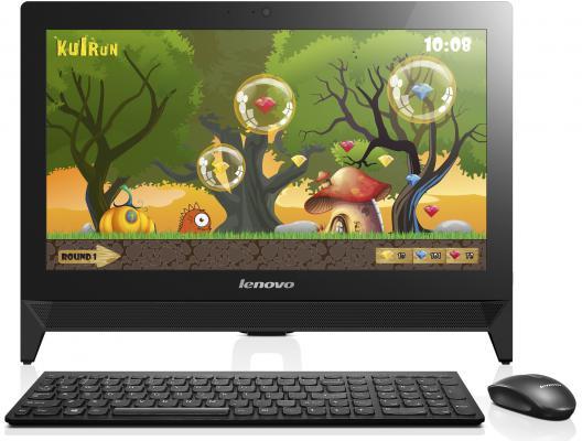 """Моноблок 19"""" Lenovo C20-00 1920 x 1080 Intel Celeron-N3150 2Gb 500Gb Intel HD Graphics Windows 10 черный F0BB00B5RK"""