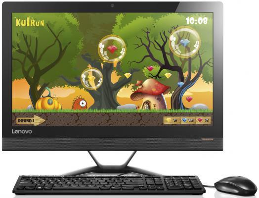 "Моноблок 21"" Lenovo IdeaCentre 300-22ISU 1920 x 1080 Intel Core i5-6200U 4Gb 1Tb Nvidia GeForce GT 920A 2048 Мб Windows 10 черный F0BX00ALRK"