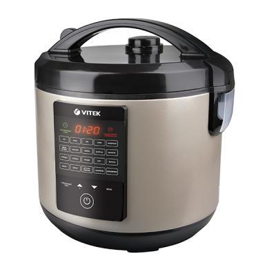 Мультиварка Vitek VT-4271 CM черный серебристый 900 Вт 5 л мультиварка brand 502 850 вт 5 л белый