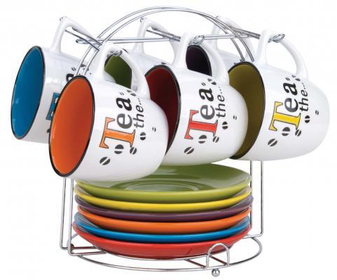 Чайный набор Bekker BK-5980 цвет в ассортименте 0.220 л керамика