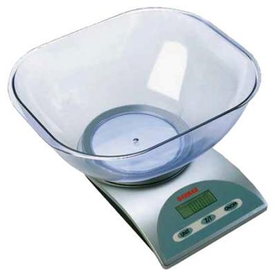 Весы кухонные Bekker BK-1 серебристый ковш bekker 1 4l bk 3852