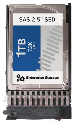 """Жесткий диск 2.5"""" 1Tb 7200rpm Lenovo SAS 00AJ086"""