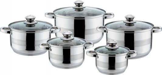 Набор посуды Bekker Jumbo BK-1258 10 предметов