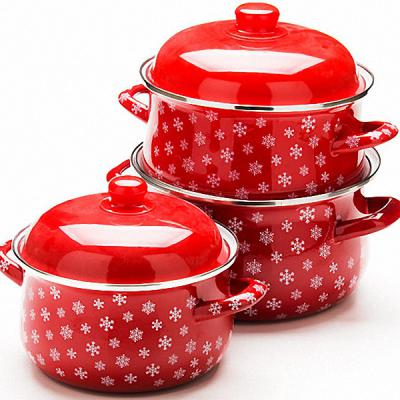 Набор посуды Mayer&Boch МВ-22344-1 эмаль 6 предметов