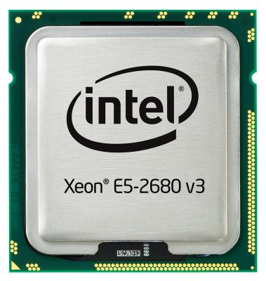 Процессор Dell Intel Xeon E5-2680v3 2.5GHz 30M 12C 120W 338-BGNF