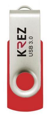 Флешка USB 16Gb Krez красный KREZ401U3R16