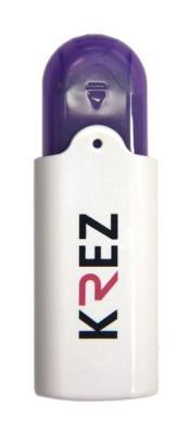 Флешка USB 32Gb Krez 201 бело-фиолетовый KREZ201WV32