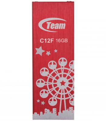 Флешка USB 16Gb Team C12F красный TC12F16GR01