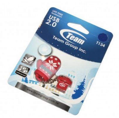 Флешка USB 16Gb Team T134 розовый TT13416GK01