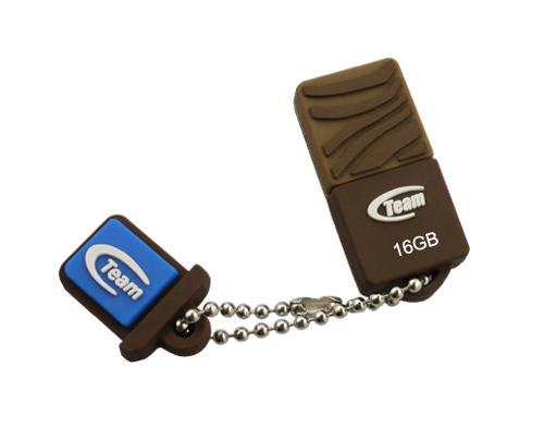 Флешка USB 16Gb Team C118 коричневый TC11816GN01