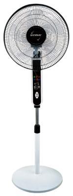 Вентилятор напольный ENDEVER Breeze-04 50 Вт бело-черный пылесосы endever пылесос