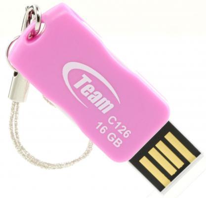 Флешка USB 16Gb Team C126 розовый TC12616GK01