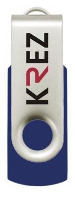Флешка USB 16Gb Krez 401 синий KREZ401L16