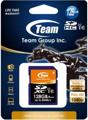 Карта памяти SDXC 128GB class 10 Team xTreem TSDXC128GU8501