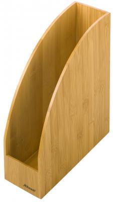 Подставка для журналов Rexel Bamboo вертикальная деревянная 2102371