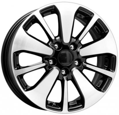 Диск K&K Peugeot 4008 КСr688 6.5xR16 5x114.3 мм ET38 Алмаз черный 64744