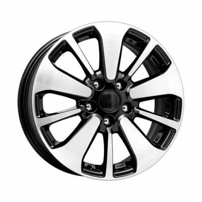 Диск K&K Nissan Qashqai КСr688 6.5xR16 5x114.3 мм ET40 Алмаз черный 64749 купить бампер nissan almera n16