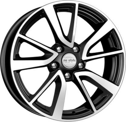 Диск K&K Nissan Qashqai (КСr699) 7xR17 5x114.3 мм ET40 Алмаз черный