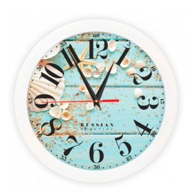 Часы Вега П 1-7/7-250 Ракушки кронштейн kromax vega 50 белый