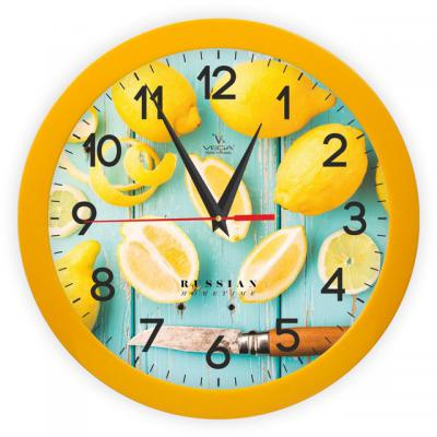 Часы ВЕГА П 1-2/7-260 Лимоны часы вега п 1 2 7 255 бананы