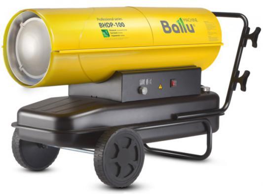 Тепловая пушка BALLU BHDP-100 100000 Вт ручка для переноски дисплей желтый цена и фото