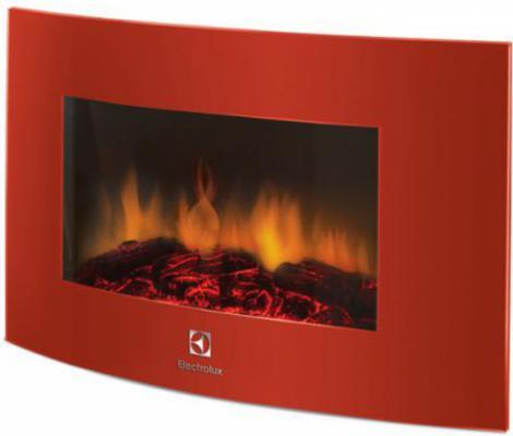 Электрокамин Electrolux EFP/W-1200URLS 2000 Вт пульт ДУ красный