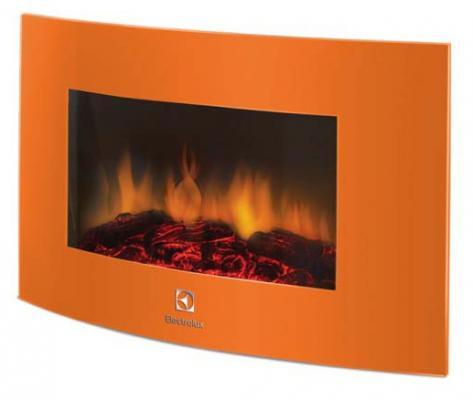 Электрокамин Electrolux EFP/W-1200URLS 2000 Вт пульт ДУ оранжевый