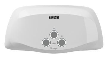 Водонагреватель проточный Zanussi 3-logic 6,5 T кран 6.5 кВт