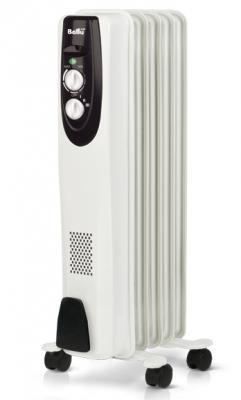 Масляный радиатор BALLU Classic BOH/CL-05WRN 1000 Вт ручка для переноски белый масляный радиатор ballu style boh st 05w 1000 вт ручка для переноски термостат белый