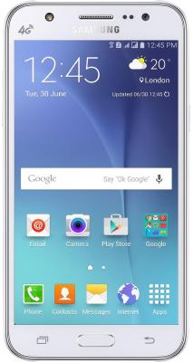 Смартфон Samsung Galaxy J7 2016 белый 5.5 16 Гб LTE Wi-Fi GPS 3G SM-J710FZWUSER