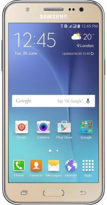 Смартфон Samsung Galaxy J5 2016 золотистый 5.2 16 Гб NFC LTE Wi-Fi GPS 3G SM-J510FZDUSER смартфон alcatel onetouch ot6055k idol 4 серый 5 2 16 гб nfc lte wi fi gps 3g