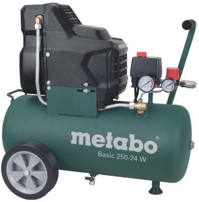 Компрессор Metabo 250-24Wмасляный поршневой 601533000 компрессор масляный prorab 2508