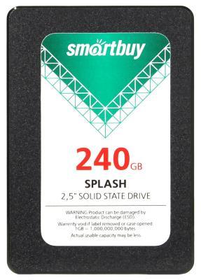 "SSD Твердотельный накопитель 2.5"" 240GB Smartbuy Splash Read 500Mb/s Write 410Mb/s SATA SB240GB-SPLH-25SAT3"