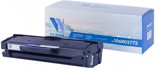Картридж NV-Print 106R02773 для Xerox Phaser 3020/WorkCentre 3025 черный 1500стр sakura 106r02773 black тонер картридж для xerox phaser 3020 workcentre 3025