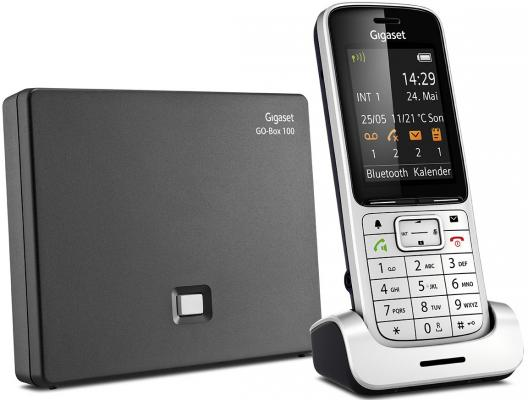 Телефон IP Gigaset SL450A GO серебристый S30852-H2721-S301 ip телефон gigaset a540 ip