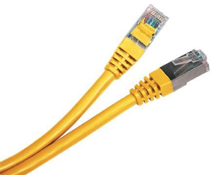 цена на Патч-корд F/UTP 5е категории 1м Hyperline PC-LPM-STP-RJ45-RJ45-C5e-1M-LSZH-YL желтый